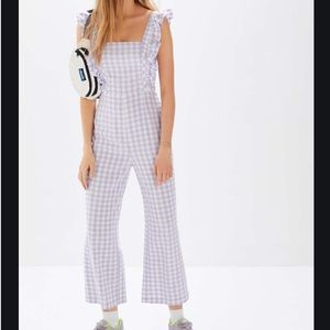 NWT UO Emerson Gingham Jumpsuit